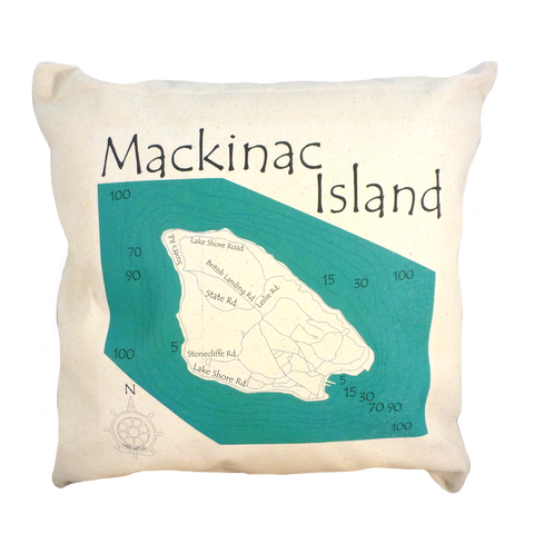Mackinac Island Pillow