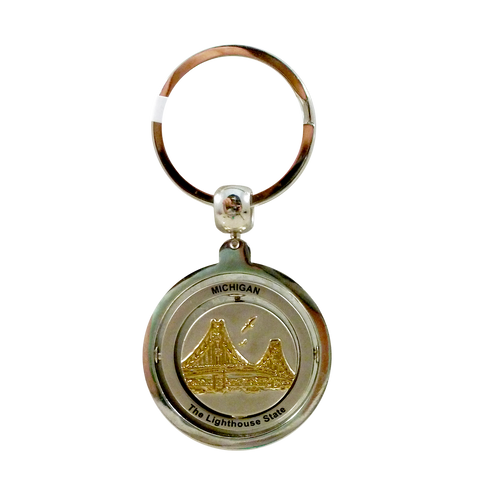 Michigan Lighthouse Keychain