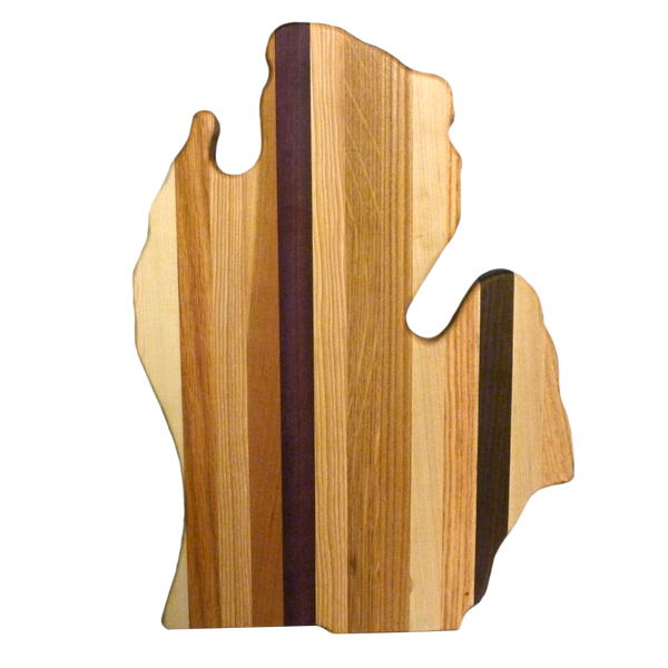 Multicolored Michigan Cutting Board (Large)