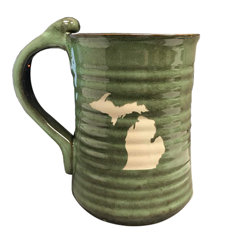Michigan Pottery Mug