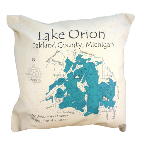 Lake Orion Pillow
