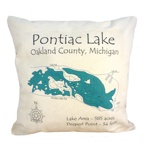 Pontiac Lake Pillow