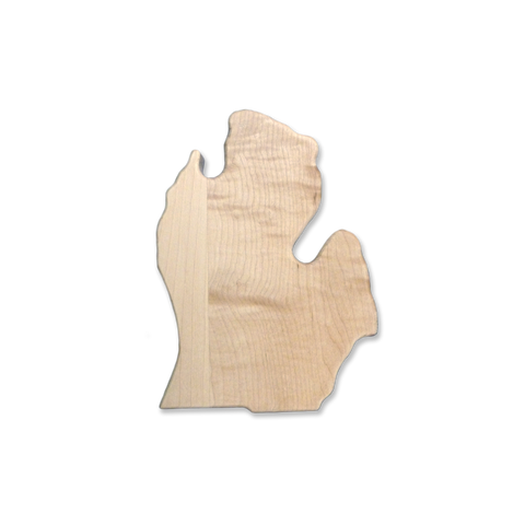 Maple Michigan Cutting Board (Small)
