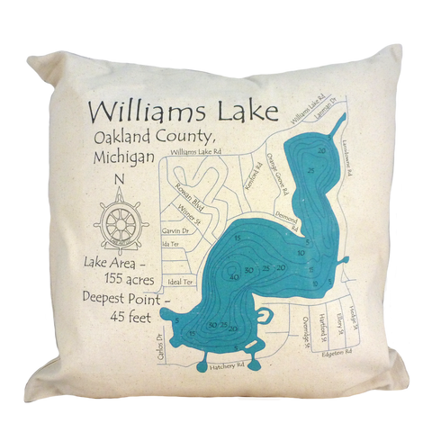 Williams Lake Pillow