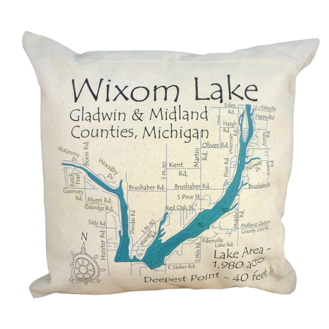 Wixom Lake Pillow