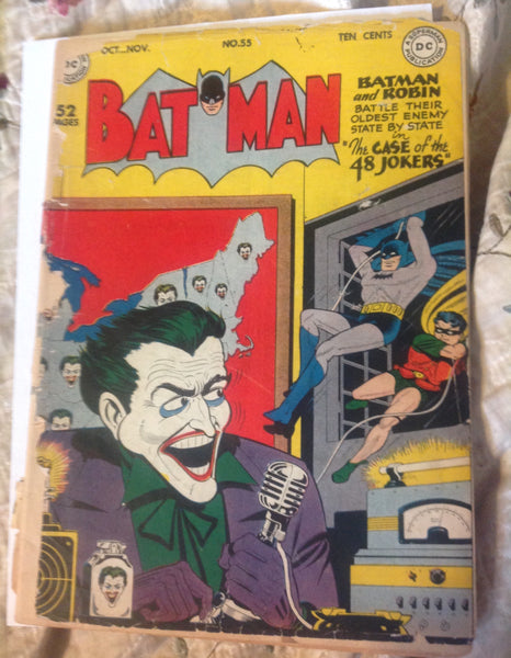 Batman 55 FR (1.0) Joker Cover
