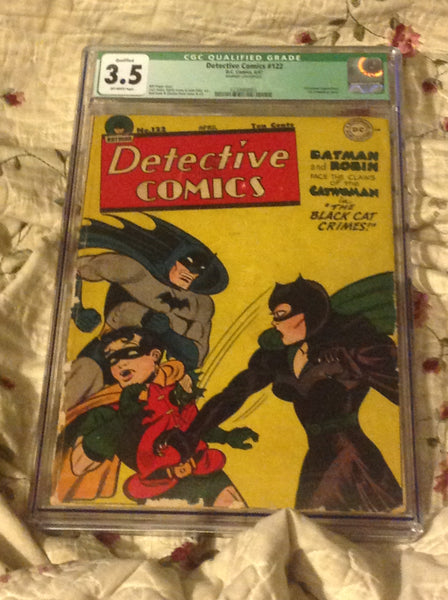 Detective Comics 122 CGC 3.5 OW (Q) 1st Catwoman Cover