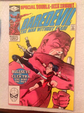 Daredevil 181 VF (8.0) Death of Elektra