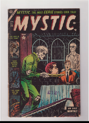 Mystic Comics 26 VG- (3.5) Head on a Plate Cover