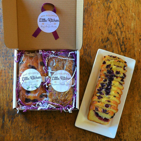 Marionberry Loaf and Pumpkin Bread Pairing