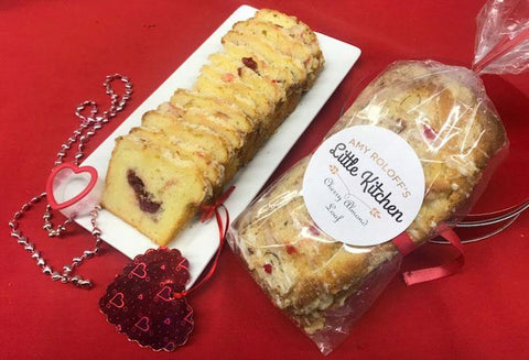 Cherry Almond Loaves
