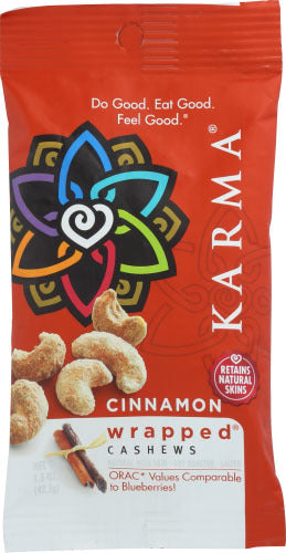 Cashews - Cinnamon Wrapped - Karma