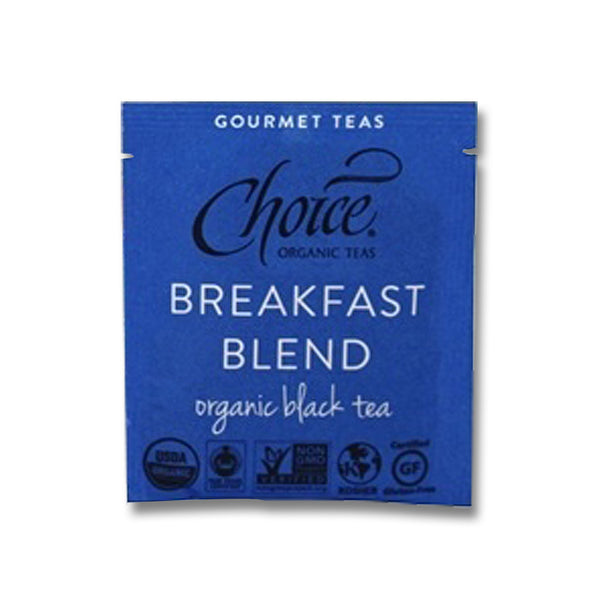 Organic Black Tea - Breakfast Blend - Choice Organic Teas