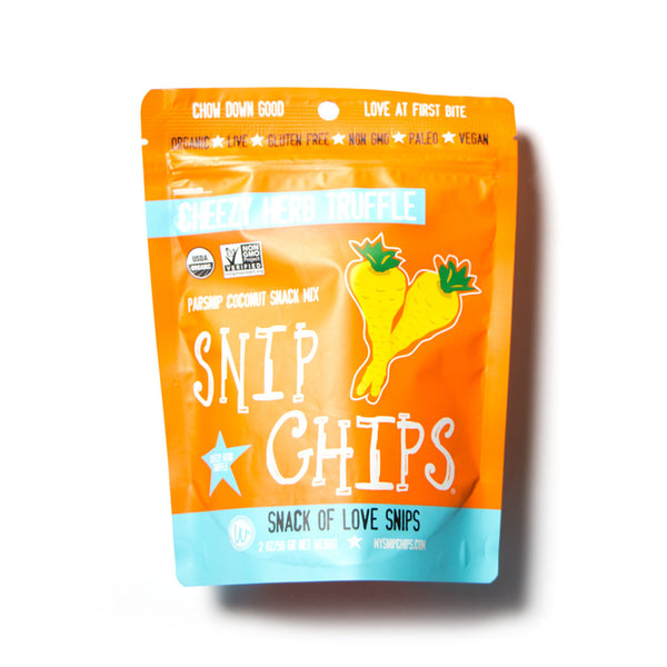 little life box snip chips cheezy herb truffle wonderfully raw