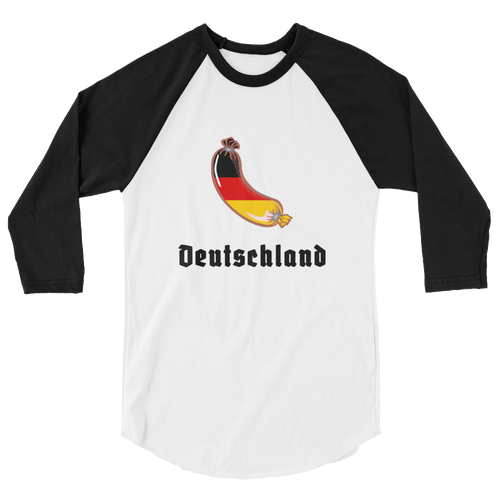 Loreley Deutschland Sausage 3/4 Sleeve Raglan Shirt