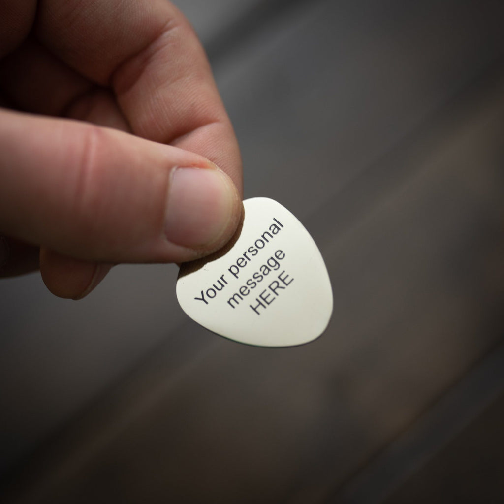 Guitar Pick - Personalized Guitar Pick