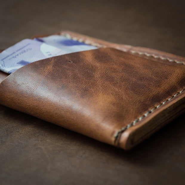 Wallet - Customized Card Holder - English Tan