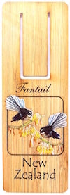 G035 Bookmark - Fantail