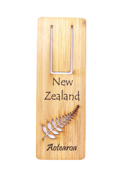 NZ Fern Bookmark