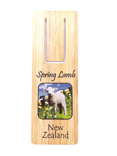 Spring Lamb Bookmark