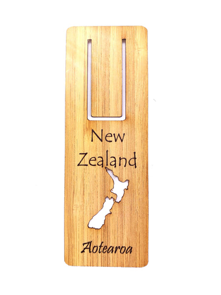 NZ Map Bookmark