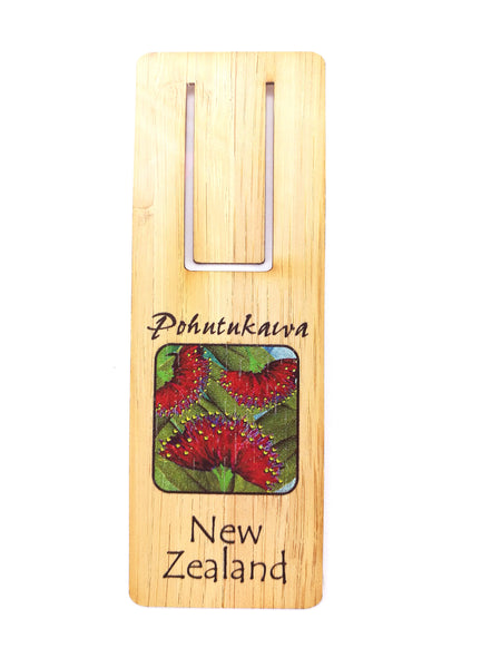 Pohutukawa Flower Bookmark