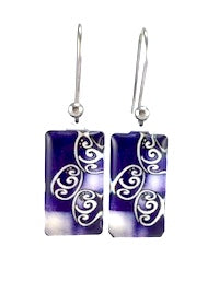 Blue Balance Earrings