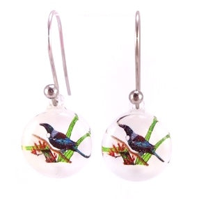 White Tui Earrings