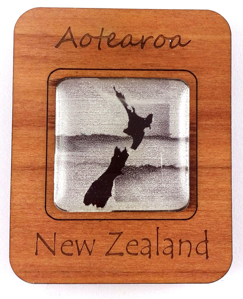 G036 Magnet - NZ Map
