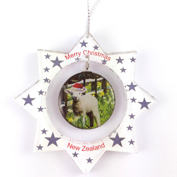 Spring Lamb Christmas Decoration