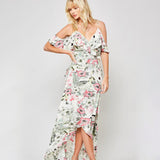 Tropical Tango Floral Maxi Dress