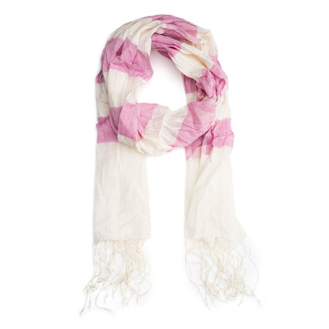 Molly Cotton Scarf - Berry