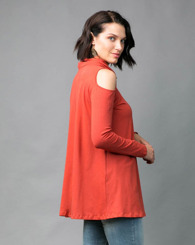 Britney Turtleneck Tunic - Tandori