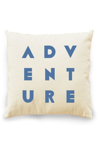 Adventure Pillow Cover