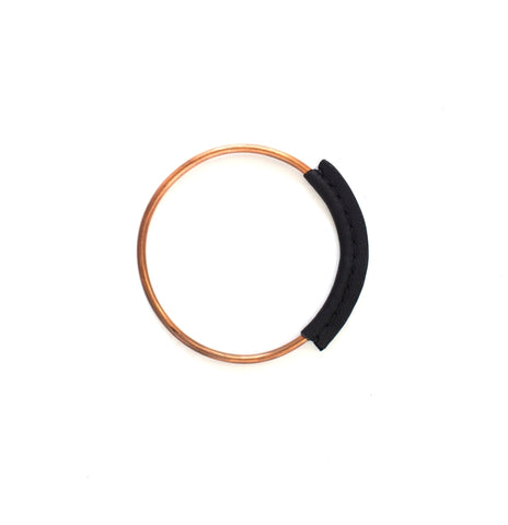 Copper & Leather Bangle