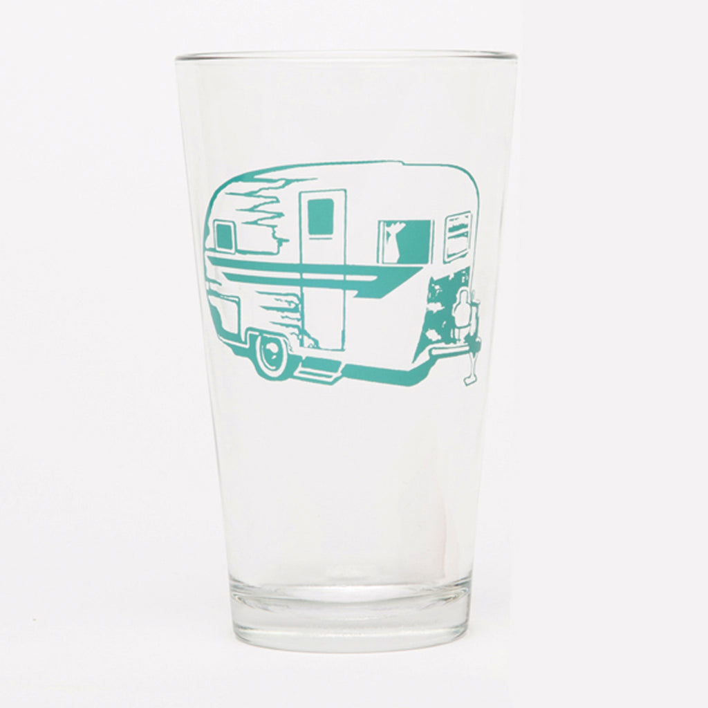 Pint Glass - Camper Trailer