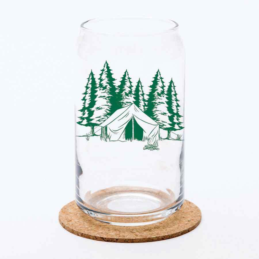 Glass Can - Camping