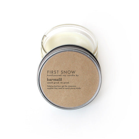 Candle - First Snow