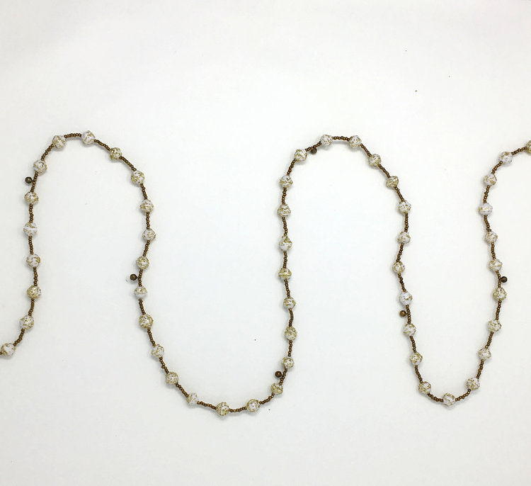 Gold Jingle Garland