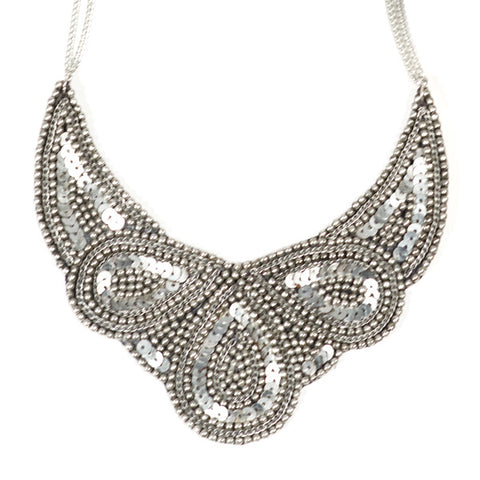 Cleopatra Necklace - Silver