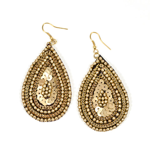Cleopatra Earrings - Gold