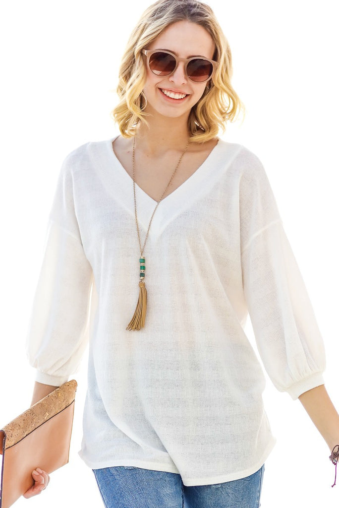 Shauna Top - White