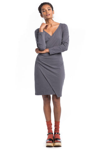 Mademoiselle Dress - Charcoal
