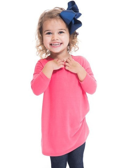 Toddler Elsie Tunic/Dress - Coral