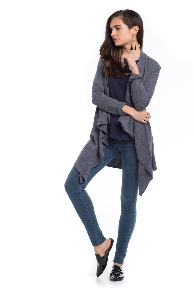 Ripple Cardigan - Gray