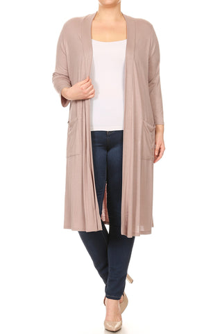 Grace Cardigan - Dust Pink
