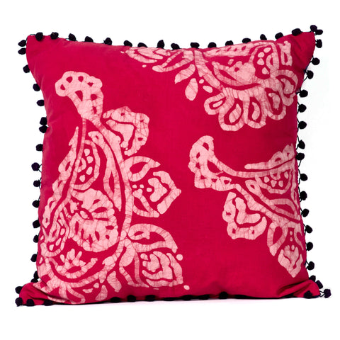 Batik Paisley Pillow Cover