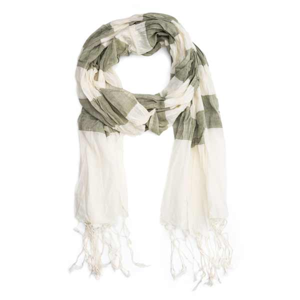 Molly Cotton Scarf - Sage