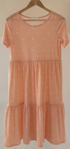 Sasha Dress - Blush Peach