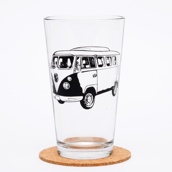 Pint Glass - VW Bus